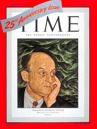 Reinhold Niebuhr - Time Cover - 1948